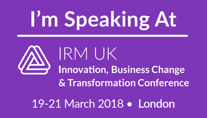 Innovation, Business Change and Transformation Conference 2018